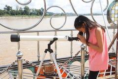 Flickabruksteleskop Royaltyfri Fotografi