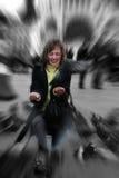 flickaduvor Fotografering för Bildbyråer