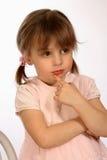 Flickaenigma Royaltyfri Bild