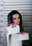 flickafängelse royaltyfria foton