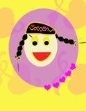 flickaförälskelse Royaltyfri Fotografi