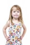 flickaförträningsbarn Arkivbilder