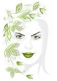 flickafjäder Royaltyfri Bild