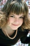 flickafjäder Royaltyfria Bilder