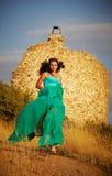 Flickaflottörhus Royaltyfria Bilder
