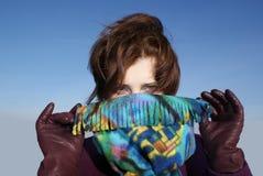 flickagåta Fotografering för Bildbyråer