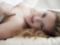 flickaglamour Royaltyfri Fotografi