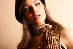 flickaglamourdeltagare Royaltyfria Foton