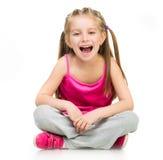 Flickagymnast fotografering för bildbyråer