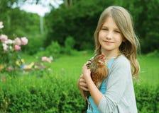 flickahöna Royaltyfri Bild
