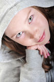 flickahandbenägenhet royaltyfria foton