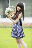 flickalawnbarn Royaltyfria Bilder