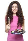 Flickamålare Arkivbilder