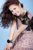 flickamodell royaltyfria bilder
