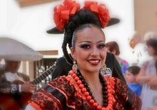 Flickan från Mexico Royaltyfria Bilder