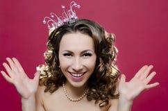 Glad Princess Fotografering för Bildbyråer