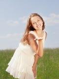 Fjädra flickan fotografering för bildbyråer