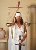 flickan skalar zodiac Arkivbild