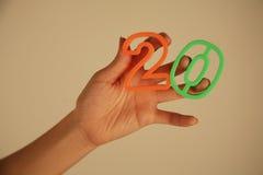 Flickaorganisationsnummer 20 Arkivbilder