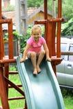 flickapinkglidbana Fotografering för Bildbyråer
