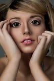flickaplast- Fotografering för Bildbyråer