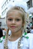 flickaskola royaltyfri bild
