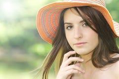 flickasommar Royaltyfri Fotografi