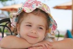 flickasommar Royaltyfri Bild
