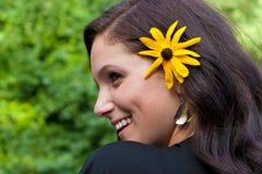 flickasommarvildblomma Royaltyfri Bild
