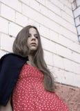 flickasorgsenhet Fotografering för Bildbyråer