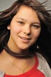 flickastående Arkivfoton