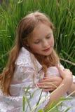 flickastående Fotografering för Bildbyråer