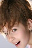 flickastående royaltyfri fotografi