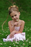 flickastående Arkivbilder