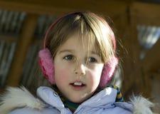 flickaståendebarn royaltyfri fotografi