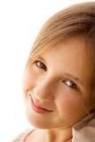 flickaståendetonåring Arkivbilder