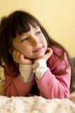 flickatanke Fotografering för Bildbyråer