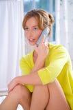 flickatelefon Royaltyfria Foton