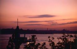Flickatorn, Bosphorus Istanbul Royaltyfri Foto