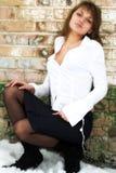 flickavägg Royaltyfria Foton