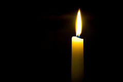 Flickering Candlelight Stock Photos