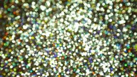Glittering brilliance in blur stock video footage