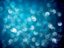 Flickering Lights | Christmas Background Royalty Free Stock Photography