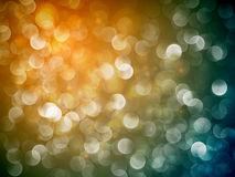 Flickering Lights | Christmas Background Royalty Free Stock Photos