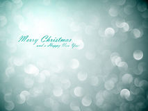 Flickering Lights | Christmas Background Royalty Free Stock Photo