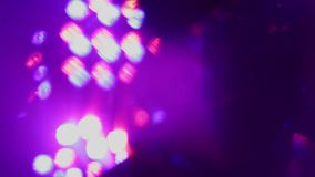 Flickering to the music of club light. stock video footage