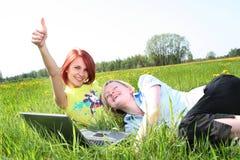 flickor Fotografering för Bildbyråer