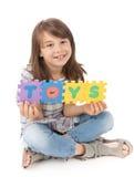 flickor play klart till Arkivfoton