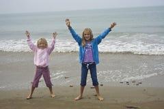 flickor som leker barn Royaltyfri Foto