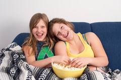 flickor två Royaltyfri Foto